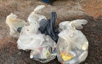 Friends Board Member Hosts Recent Trash Blasts